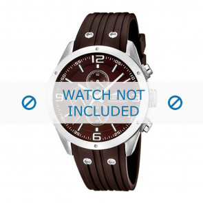 Lotus style bracelet de montre 15969-3 Plastique Brun 23mm