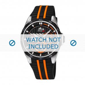 Lotus bracelet de montre 18259.1 Plastique Noir