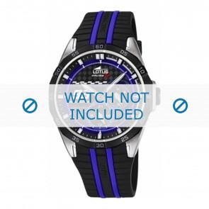 Lotus bracelet de montre 18259.2 Plastique Noir 22mm