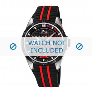Lotus bracelet de montre 18259.3 Plastique Noir 22mm