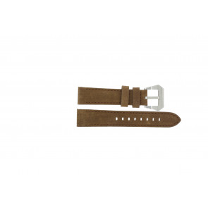 Max bracelet de montre BR / 20mm  Cuir Brun 20mm + coutures brunes