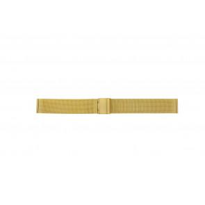 Bracelet de montre WoW MESH18.1.5 Acier Plaqué or 18mm