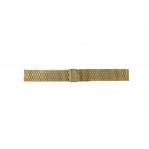 Bracelet de montre WoW MESH-20.3 Acier Plaqué or 20mm