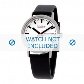 Mondaine bracelet de montre A667.30314.11SBB / BM20028 / 30300 / 30314 / Classic 36 / Evo 35  Cuir Noir 18mm