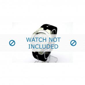 Movado bracelet de montre 84c51892.0 Caoutchouc Noir
