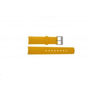 Nautica bracelet de montre 31507G En caoutchouc Jaune 22mm