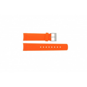 Nautica bracelet de montre A16567G / A31505G / N14538G / N19523 / A16567G / N14612G / A13010G / A09904G Caoutchouc Orange 22mm