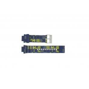 Adidas bracelet de montre ADH6106 En caoutchouc Bleu 16mm