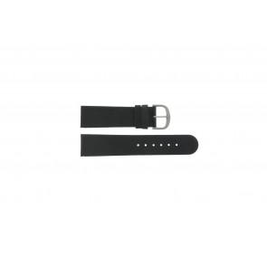 Danish Design bracelet de montre IQ13Q586 / IV13Q843 Cuir Noir 22mm