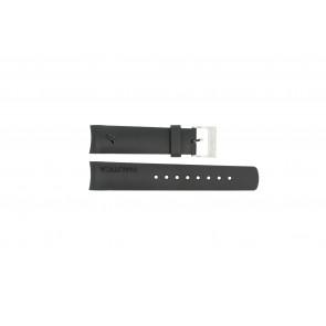 Nautica bracelet de montre 31503G / N18523G / 31506G / A19527 / N17526 / A36002 / A13011 Caoutchouc Noir 22mm
