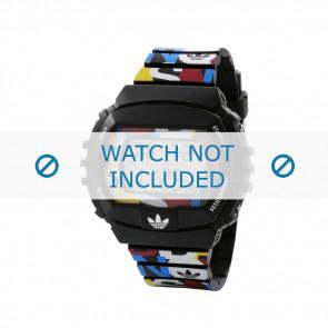 Adidas bracelet de montre ADH6080 Plastique Noir 26mm