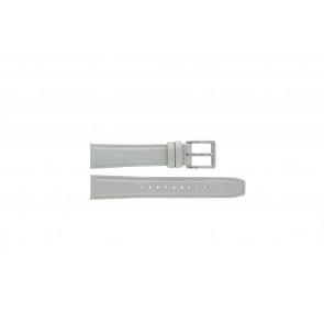 Bracelet de montre DKNY NY8585 Cuir Gris 18mm