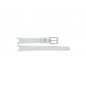 DKNY bracelet de montre NY8782 Cuir Blanc 13mm