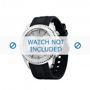 Police bracelet de montre P-12076J/JSTB/01 Plastique Noir