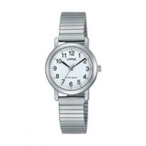 Lorus bracelet de montre RRS81VX9 / V501 X471 / RHN148X Métal Argent 13mm