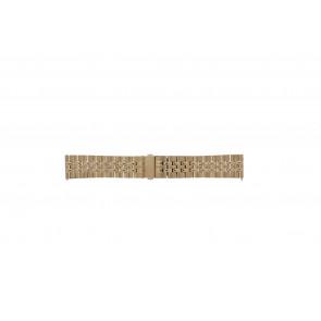 Fossil bracelet de montre S222112 Métal Rosé 22mm