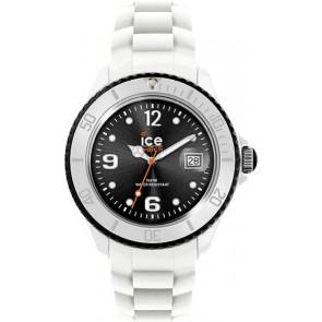 Bracelet de montre Ice Watch SI.WK.S.S.11 Silicone Blanc 16mm