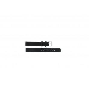 Skagen bracelet de montre 355SSLW Cuir Noir 14mm