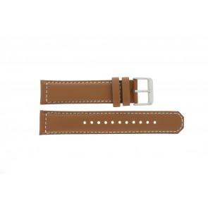Bracelet de montre Seiko SRPA75K1 / 4R35 01N0 / M0FP71BN0 Cuir Cognac 21mm