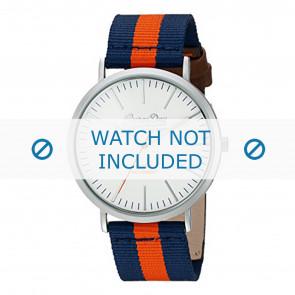 Superdry bracelet de montre SYG183UO Nylon Bleu