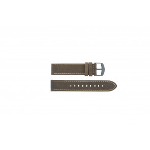 Timex bracelet de montre T49905 Cuir Brun 20mm