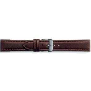 Bracelet de montre Universel 283R.02 Cuir Brun 24mm