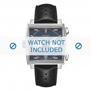 Bracelet de montre Tag Heuer CAW211P.FC6356 Cuir Noir