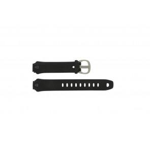 Timex bracelet de montre T5E901 Silicone Noir 16mm