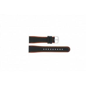 Timex bracelet de montre T2N428 Cuir Noir 22mm