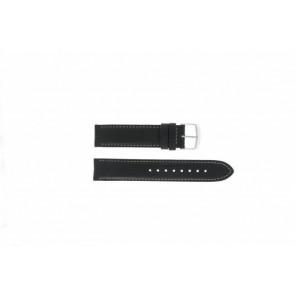 Timex bracelet de montre T2N156 Cuir Noir 20mm