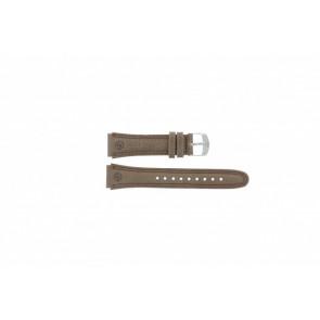 Timex bracelet de montre T44381 Cuir Brun 20mm