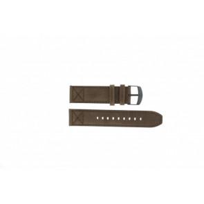Timex bracelet de montre T49986 Cuir Brun 22mm