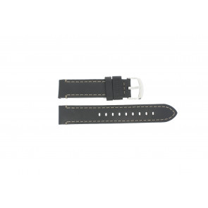 Timex bracelet de montre TW2P58800 Cuir Noir 20mm
