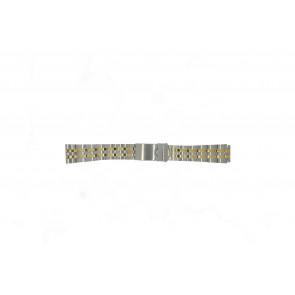Morellato bracelet de montre U0220184 Métal Argent 18mm