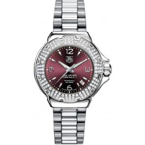 Bracelet de montre Tag Heuer WAC1219-BA0852 Acier Acier