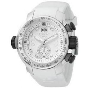 Zodiac bracelet de montre ZO8511 Caoutchouc Blanc