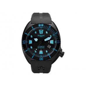 Bracelet de montre Zodiac ZO8018 Caoutchouc Noir 21mm