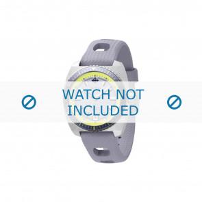 Zodiac bracelet de montre ZO2262 Caoutchouc Gris