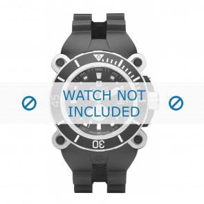 Bracelet de montre Zodiac ZO8532 Caoutchouc Noir 38mm